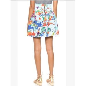 T-Bags Los Angeles floral tropical skirt S